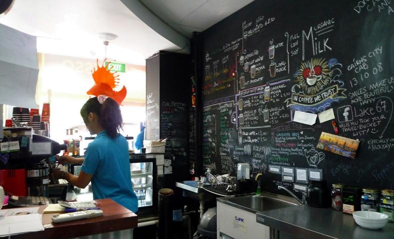 CCEB併設のカフェの写真