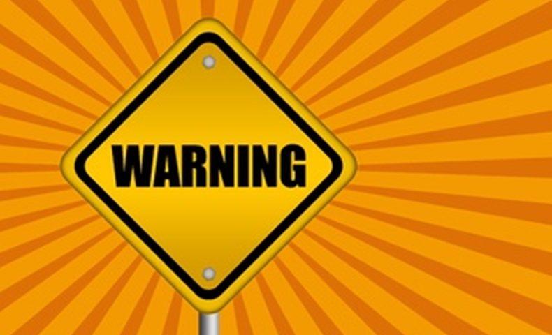 注意・警告のイメージ画像